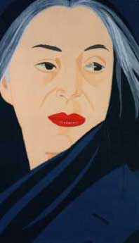 Alex Katz: Black Scarf