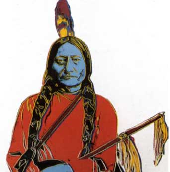 Andy Warhol: Sitting Bull